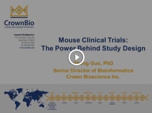 Mouse Clinical Trials: The power behind study design
