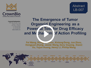 AACR20 Poster LB-007: Genetically Engineered Organoid Models for Drug Development Applications