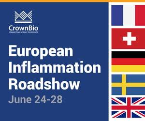 CrownBio Europe Inflammation Roadshow