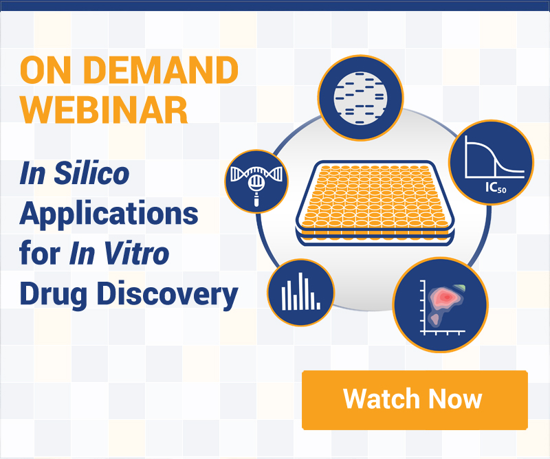 in silico applications for in vitro oncology drug discovery on demand webinar