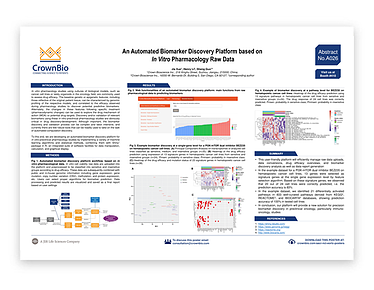 AACR-NCI-EORTC Poster A026: Developing an Automated Biomarker Discovery Platform