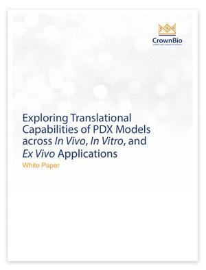 New White Paper: Exploring Translational Capabilities of PDX Models across In Vivo, In Vitro, and Ex Vivo Applications