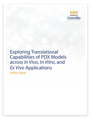 New White Paper: Exploring Translational Capabilities of PDX Models across In Vivo, In Vitro, and Ex Vivo Applications